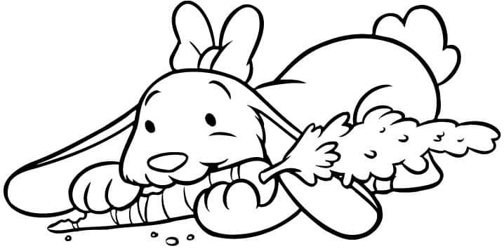 animales-colorear-conejo