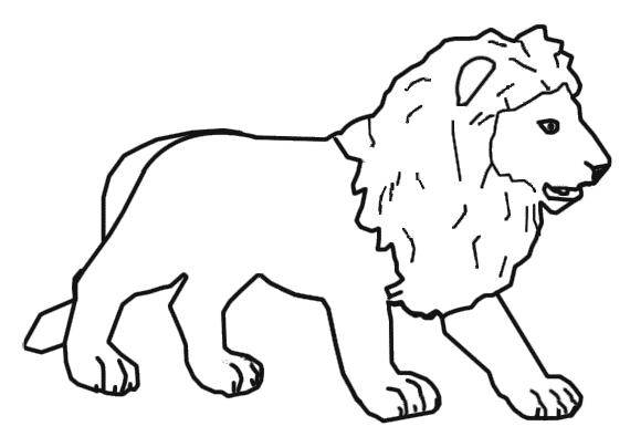 leon-colorear