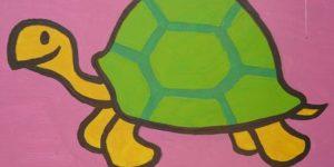 tortuga-conejo-dibujo